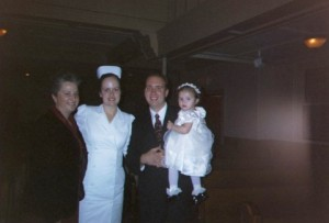Graduating from LVN school December 2004